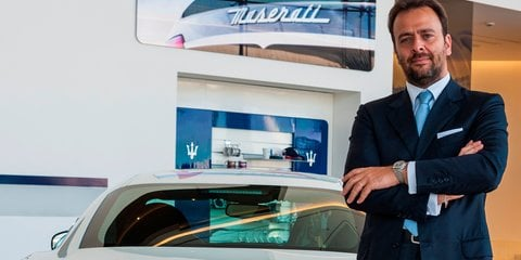 CarAdvice Q&A : Umberto Maria Cini, Maserati's managing director of General Overseas Markets