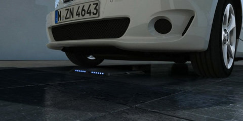 BMW and Daimler work together on inductive charging for electric cars