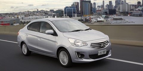 2014 Mitsubishi Mirage Sedan Review