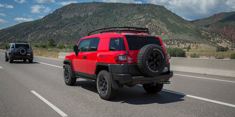Toyota FJ Cruiser Off-Road Review