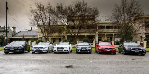 Luxury Sedan Comparison Round One : Audi A4 v BMW 3 Series