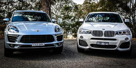 Porsche Macan v BMW X4 Review: Potent Petrol SUVs under $100k