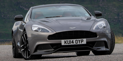 2015 Aston Martin Vanquish, Rapide S gain eight-speed auto