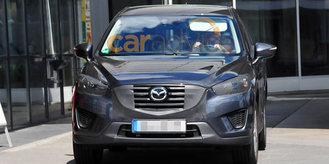 Mazda CX-5 facelift spy photos