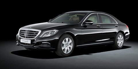 Mercedes-Benz S600 Guard: Secure sedan aims to go unnoticed