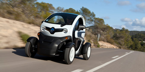 Renault Twizy lands in Australia