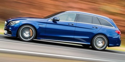 2015 Mercedes-Benz C63 AMG S revealed: sedan and wagon versions uncovered