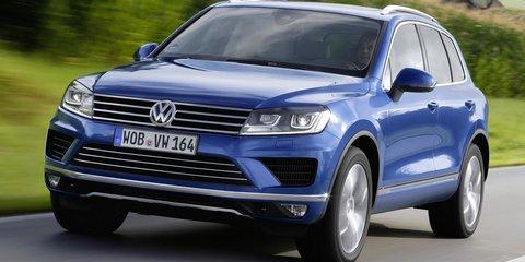 2015 Volkswagen Touareg : Power, efficiency boosts for 3.0-litre V6 TDI