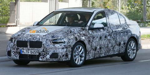 BMW 1 Series sedan caught for the first time