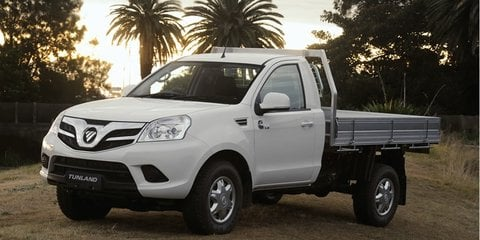 Foton Tunland pricing and specifications: Single-cab models added
