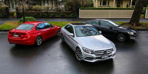 Luxury Sedan Comparison Final Round : Mercedes-Benz C-Class v BMW 3 Series v Volvo S60
