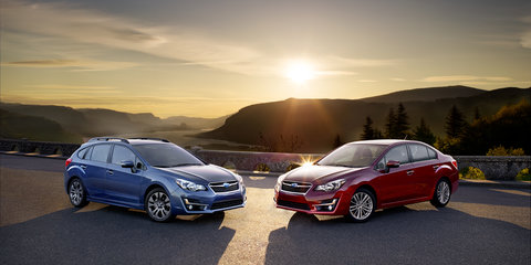2015 Subaru Impreza update revealed in US