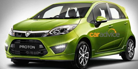 2015 Proton Iriz : First look at new Malaysian city car