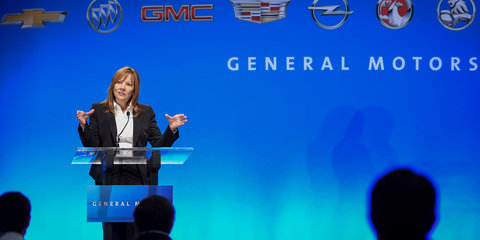 GM to slash platforms to four by 2025