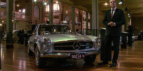 Mercedes-Benz S-Class Coupe reveal at Motorclassica 2014
