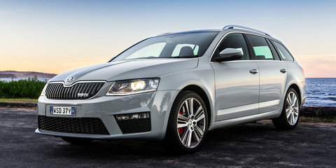 2014 Skoda Octavia RS Wagon manual Speed Date