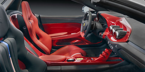 Ferrari F60 America: Open top F12-based model limited to just 10 examples