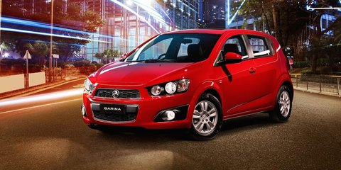 Holden Barina Trio : Bonus features for base city car
