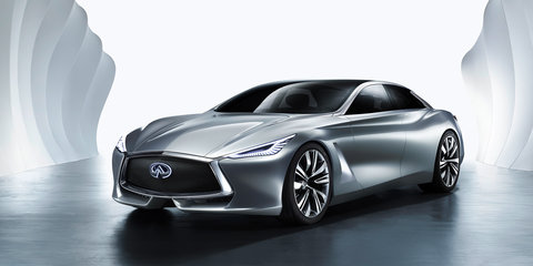 Infiniti Q80 Inspiration revealed in full with 410kW hybrid drivetrain