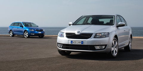 2015 Skoda Octavia gains reverse-view camera, new option packs