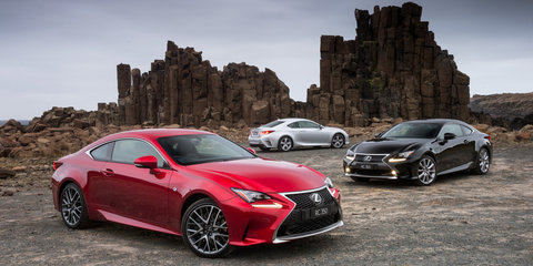 Lexus RC350 coupe lands from a sharp $66K