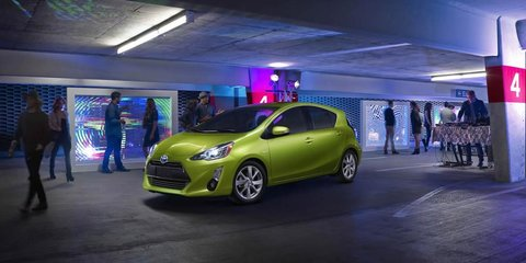 2015 Toyota Prius C facelift revealed