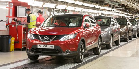 Nissan Qashqai breaks UK production record