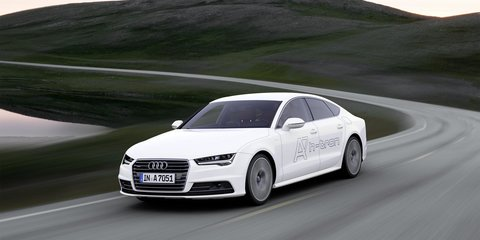 Audi A7 h-tron quattro concept revealed at 2014 Los Angeles auto show