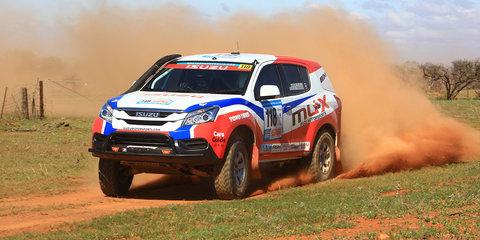 Isuzu MU-X engineered in Sydney for Dakar Rally in 2015