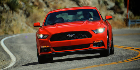 2015 Ford Mustang: Oz-bound muscle car driven