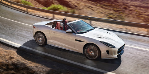Jaguar F-Type updated: Electric power steering standard; manual, AWD optional