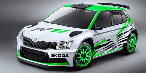 Skoda Fabia R5 WRC-2 rally car will debut in Essen