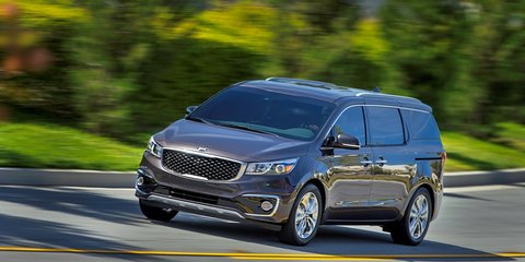 2015 Kia Carnival here in Feburary