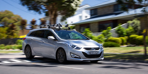 2014 Hyundai i40 Tourer Premium Speed Date