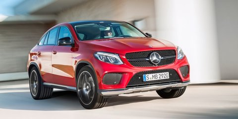 2015 Mercedes-Benz GLE Coupe revealed