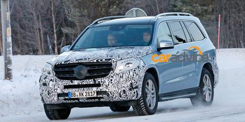 2015 Mercedes-Benz GLS spied