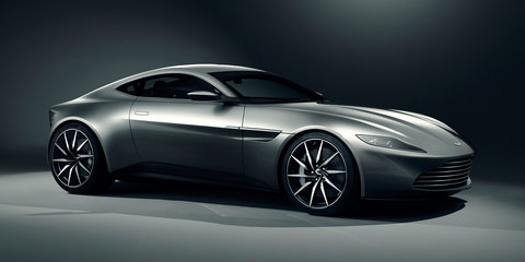 Aston Martin DB10 unveiled as James Bond's car in Spectre