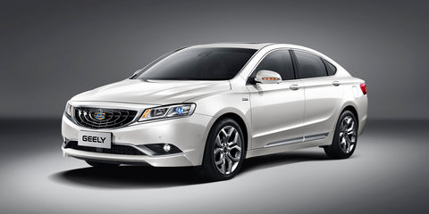 Geely GC9 exterior revealed in full