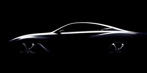 Infiniti Q60 Concept coupe teased ahead of Detroit reveal
