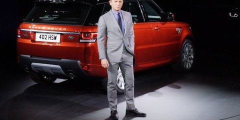 No, Mr Bond. I expect you to walk!: Thieves steal Range Rovers destined for next James Bond film