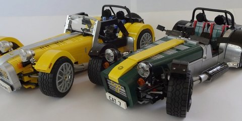 Lego Caterham Seven: Vote to make super superlight car kit reality