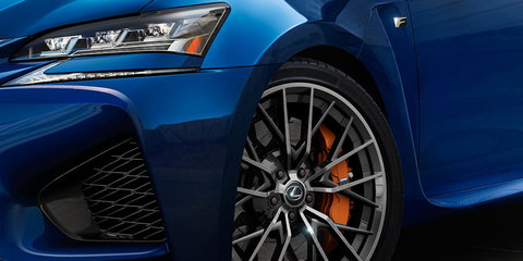 2015 Lexus GS F teased ahead of Detroit debut