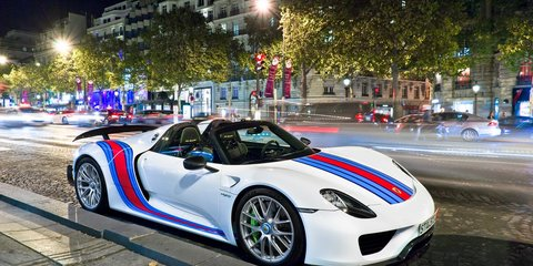 Porsche 918 Spyder recalled over chassis problems