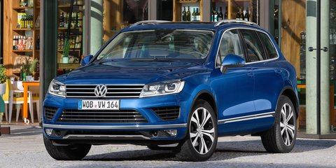 2015 Volkswagen Touareg : Pricing and specifications