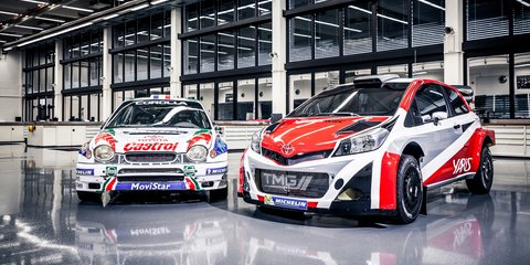 Toyota Yaris WRC car marks return to rallying in 2017
