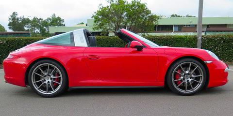2015 Porsche 911 Targa 4S Roof