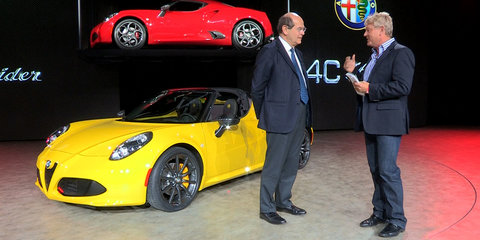 Alfa Romeo 4C Design Interview : NAIAS Detroit Motor Show 2015