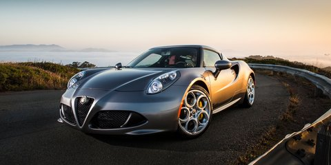 Alfa Romeo 4C priced from $89,000