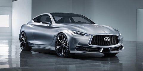 New Infiniti Q60 coupe to go on sale in Australia from Q4 2016 - UPDATED