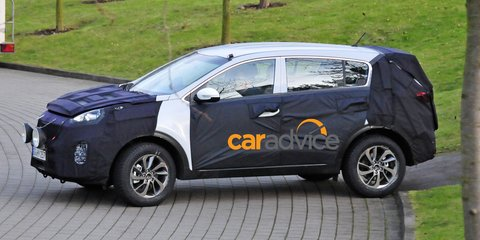 2016 Kia Sportage spied : New-look SUV set to debut new engine tech